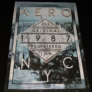 AERO NYC mens Large shirt Aeropostale